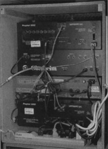 FIG. 2: A properly wired rack.
