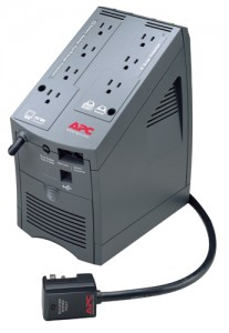 FIG. 4: The APC Back-UPS LS 700 is a quality uninterruptible power supply with surge, spike, and sag protection; automatic voltage regulation; and an assortment of bells and whistles.