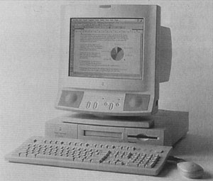 The Power Macintosh 6100/60 gets you into the latest technology for just $2,000, including monitor, keyboard, and 8 MB of RAM. The 6100/60's most noticeable limitation is its one 7-inch NuBus slot.